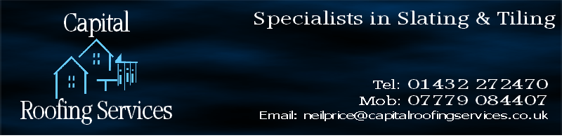 Specialists in Slating & Tiling